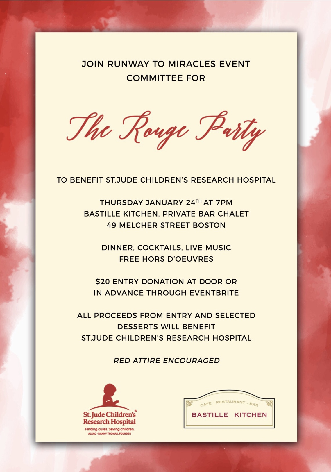 The Rouge Party Wellesley