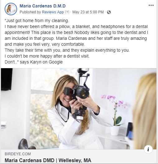 Reviews at Maria Cardenas DMD
